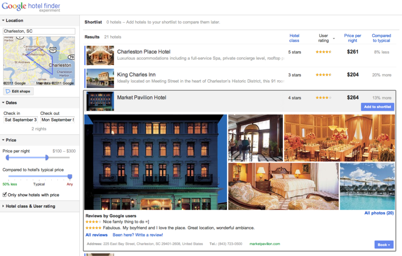 Traveler 2.0 blog google hotel finder